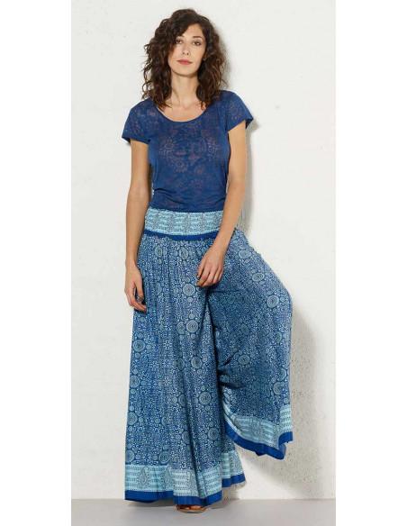 1 Pantalon poliester ancho sari