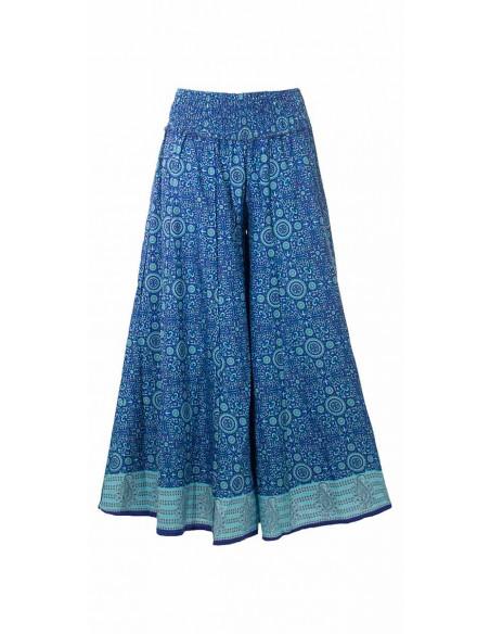 4 Pantalon poliester ancho sari