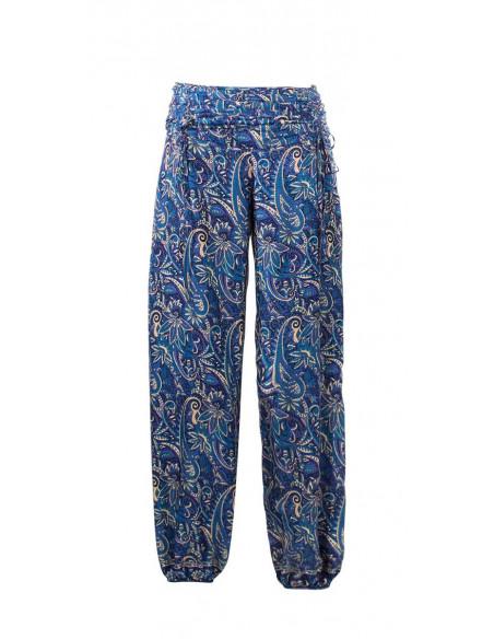 2 Pantalon poliester cordon cintura sari