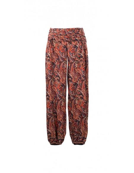 3 Pantalon poliester cordon cintura sari