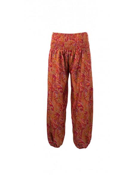 5 Pantalon poliester cordon cintura sari