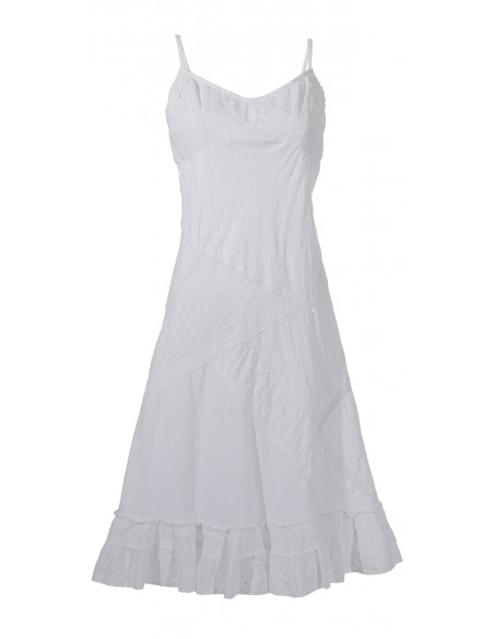 2 Robe Coton Patch Doublee