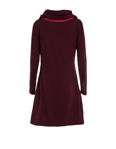 5 Vestido malla 97% algodón 3% elastano patch