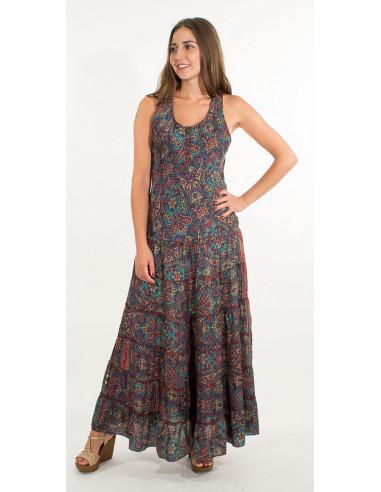 1 Vestido poliester sari