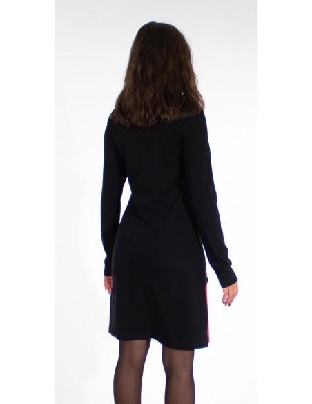 2 Vestido malla 97% algodon 3% elastano patchs