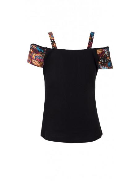 3 Camiseta 97% algodon 3% elastano estampado malaga