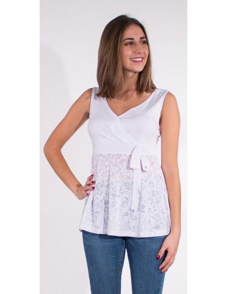 3 Camiseta 95% viscosa 5% elastano lisa bajo devore