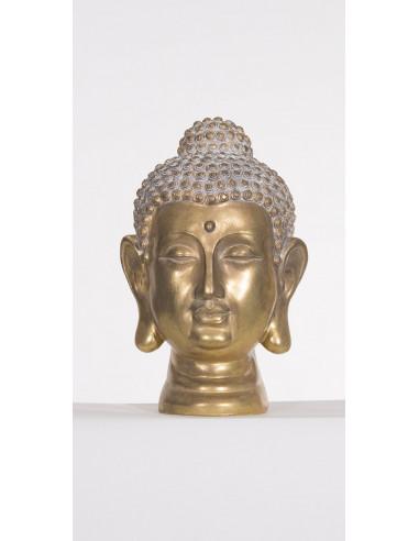 1 Estatua de Resina Cabeza De Buda 26 Cm